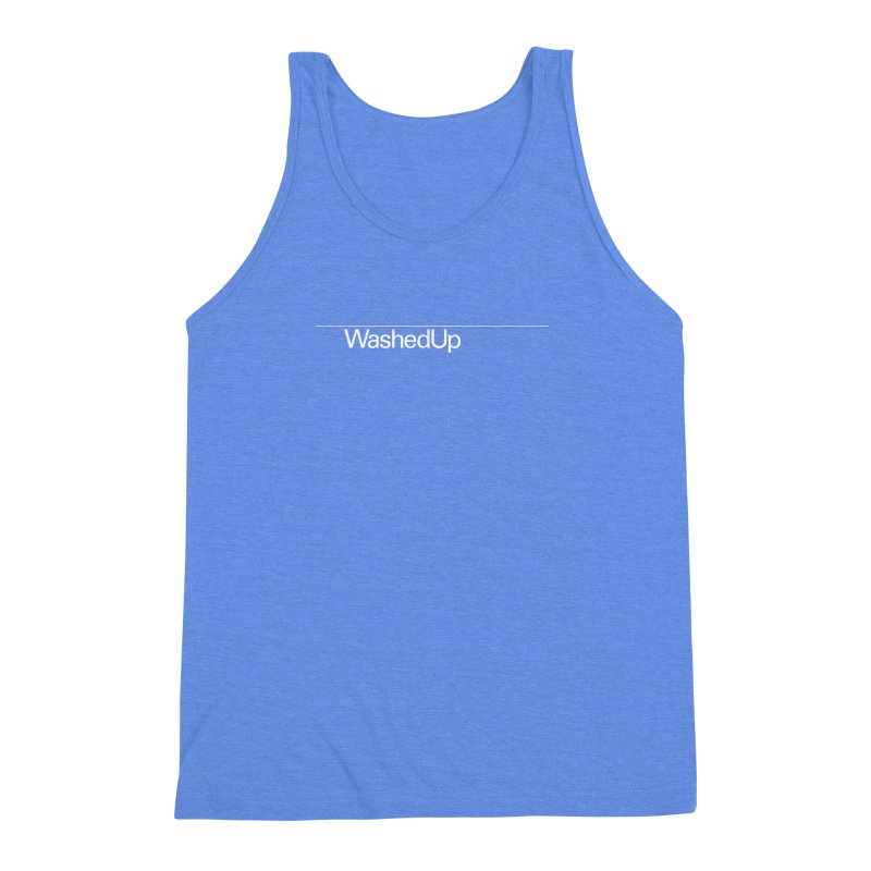Washed Up - Words Men's Triblend Tank by Washed Up Emo