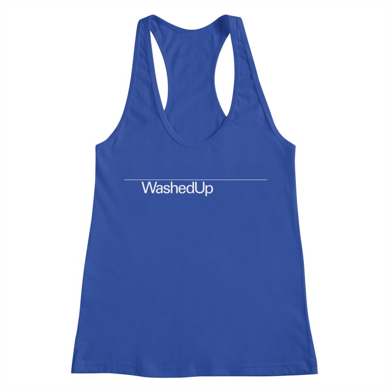 Washed Up - Words Women's Racerback Tank by Washed Up Emo