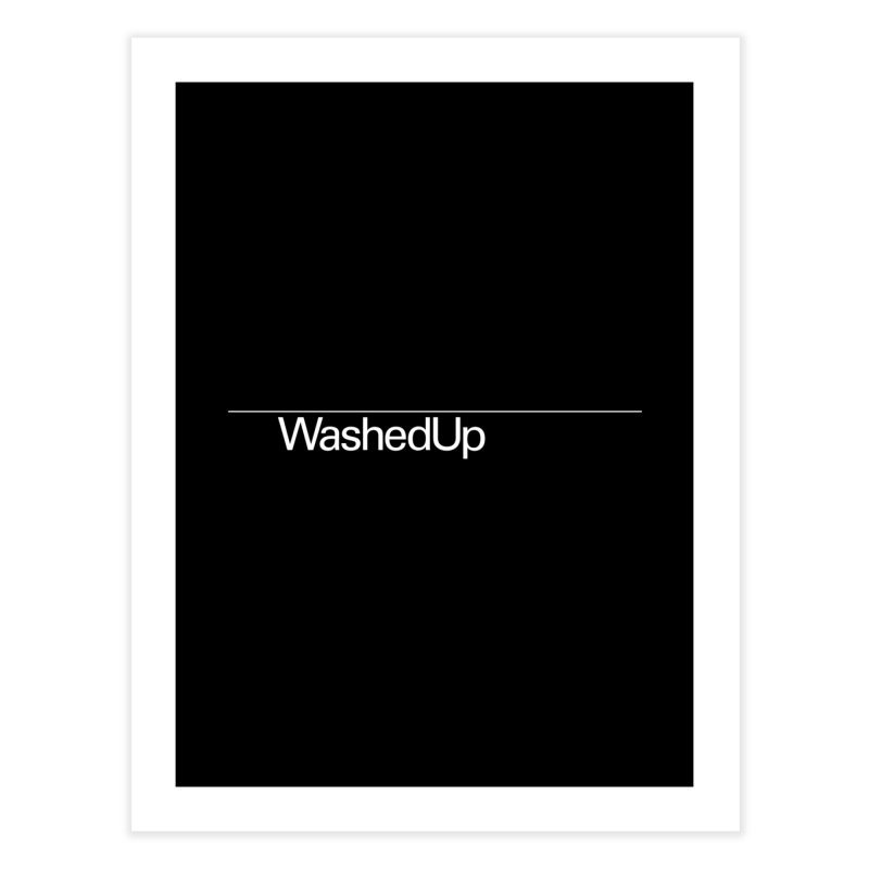 Washed Up - Words Home Fine Art Print by Washed Up Emo