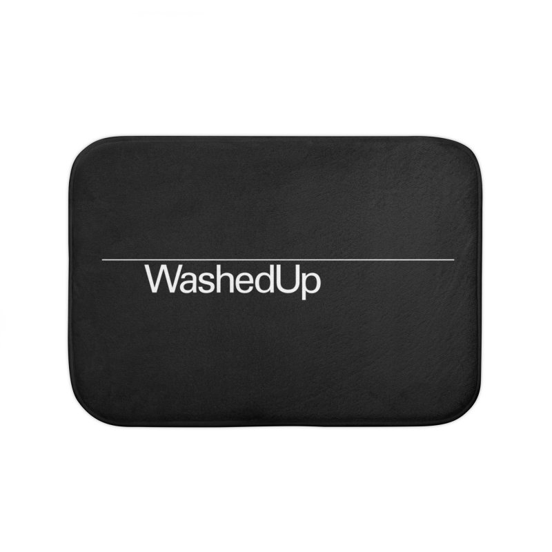 Washed Up - Words Home Bath Mat by Washed Up Emo