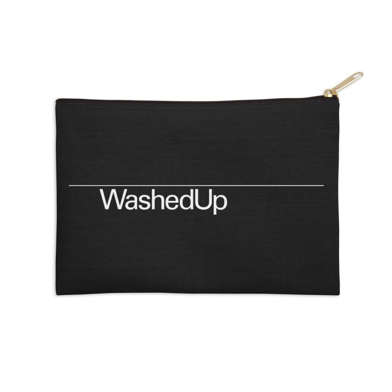 Washed Up - Words Accessories Zip Pouch by Washed Up Emo
