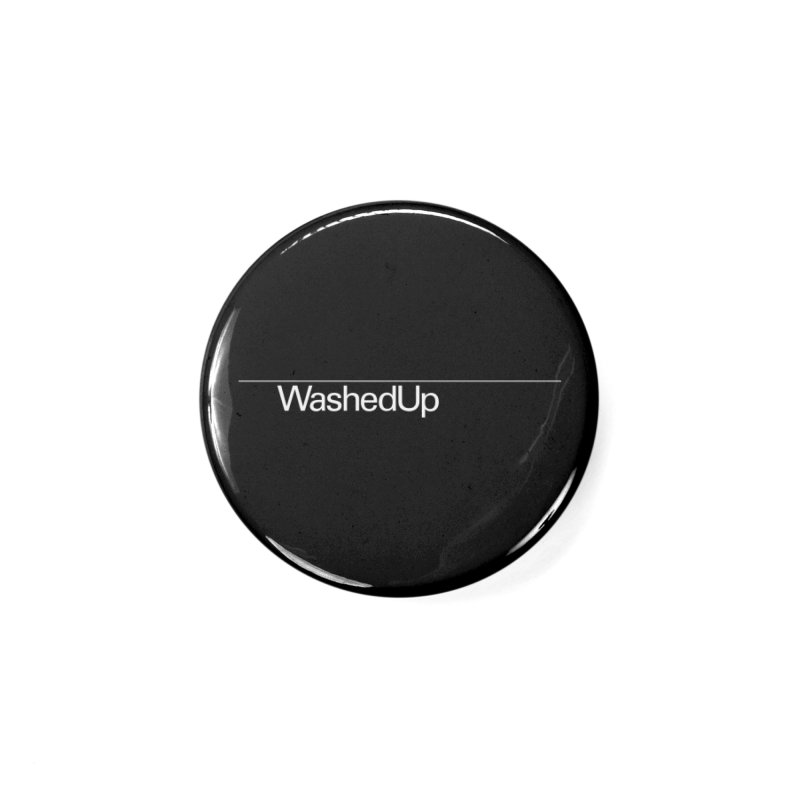 Washed Up - Words Accessories Button by Washed Up Emo