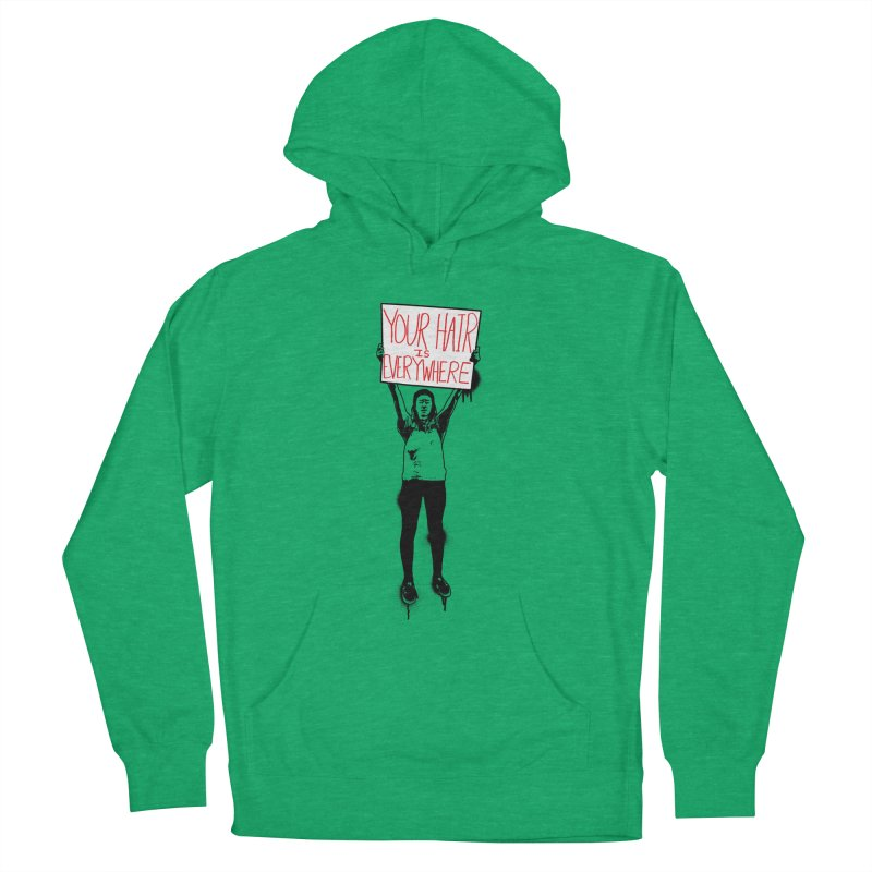 Trump Protester - Your Hair Is Everywhere  Men's French Terry Pullover Hoody by Washed Up Emo