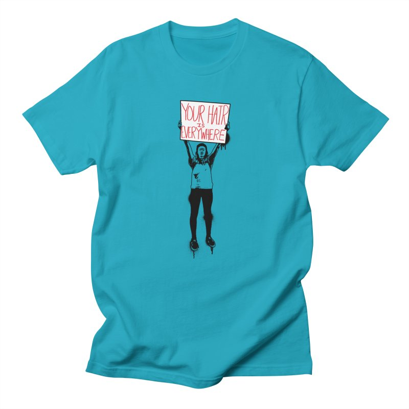 Trump Protester - Your Hair Is Everywhere  Men's Regular T-Shirt by Washed Up Emo