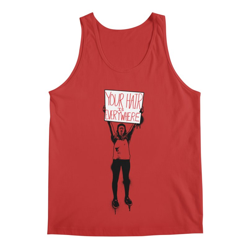 Trump Protester - Your Hair Is Everywhere  Men's Regular Tank by Washed Up Emo