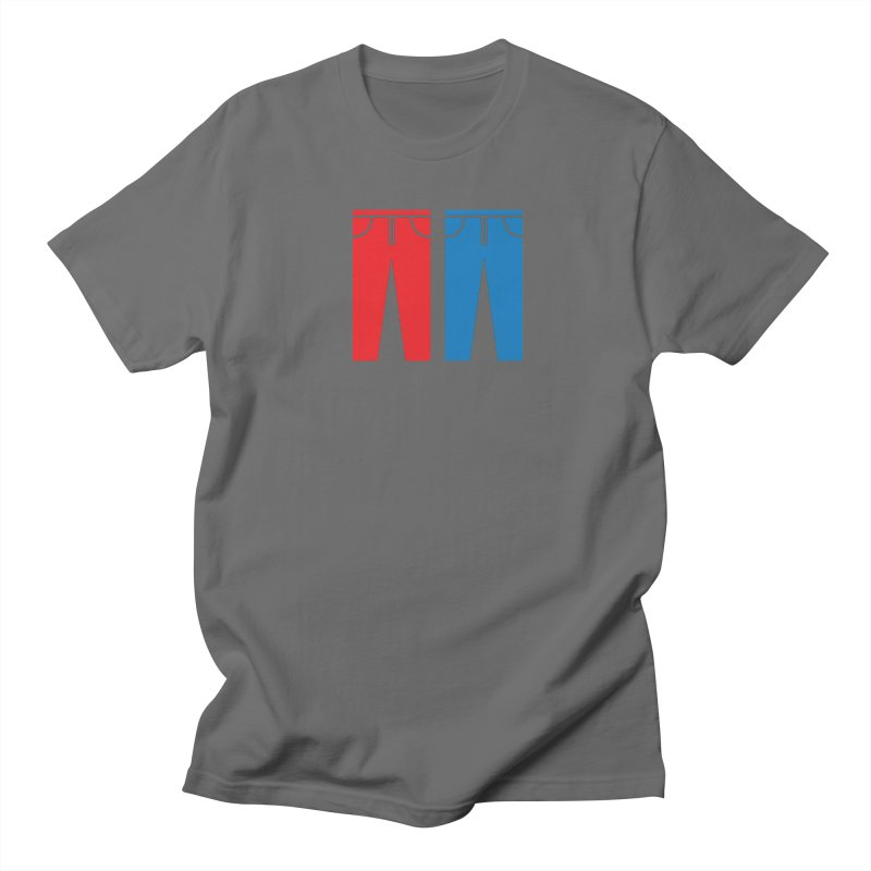Red and Blue Jeans - Apparel  Women's Regular Unisex T-Shirt by Washed Up Emo