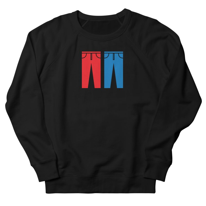 Red and Blue Jeans - Apparel  Women's French Terry Sweatshirt by Washed Up Emo