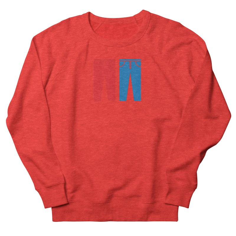 Red and Blue Jeans - Apparel  Men's Sweatshirt by Washed Up Emo
