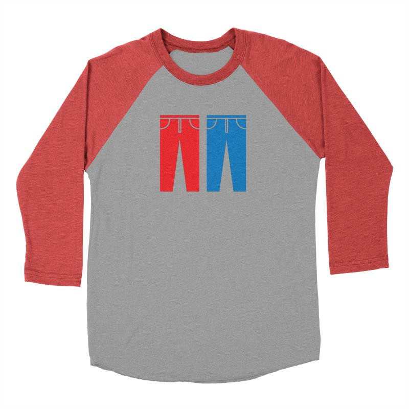 Red and Blue Jeans - Apparel  Men's Longsleeve T-Shirt by Washed Up Emo