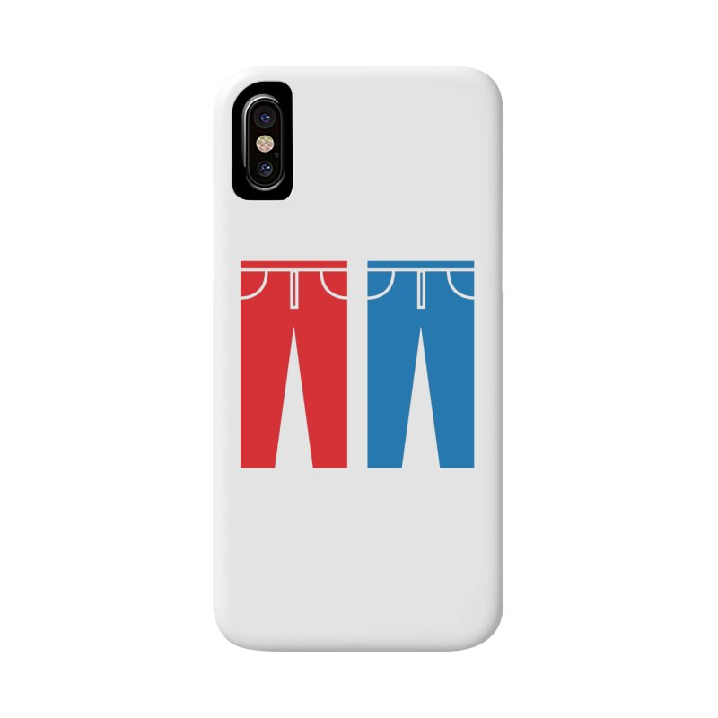 Red and Blue Jeans - Apparel  Accessories Phone Case by Washed Up Emo
