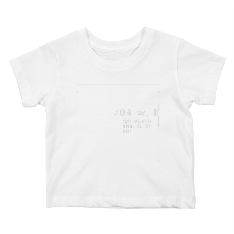 American Football House - Apparel Kids Baby T-Shirt by Washed Up Emo