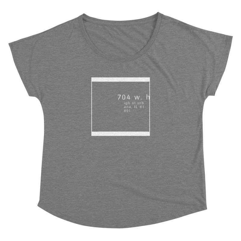 American Football House - Apparel Women's Dolman Scoop Neck by Washed Up Emo