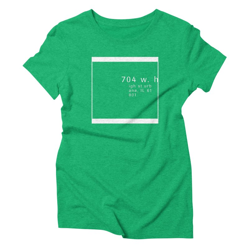 American Football House - Apparel Women's Triblend T-Shirt by Washed Up Emo