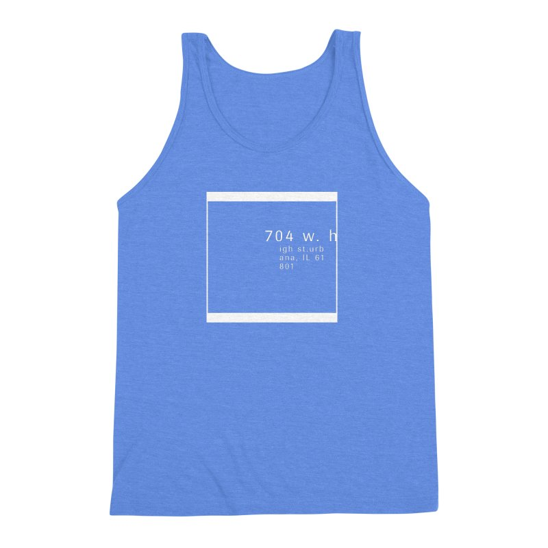American Football House - Apparel Men's Triblend Tank by Washed Up Emo