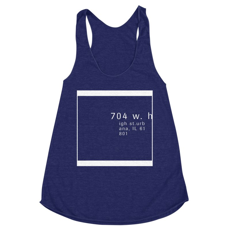 American Football House - Apparel Women's Racerback Triblend Tank by Washed Up Emo