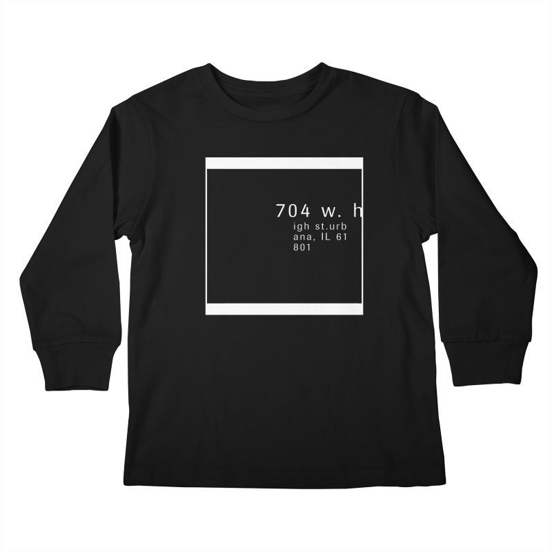 American Football House - Apparel Kids Longsleeve T-Shirt by Washed Up Emo