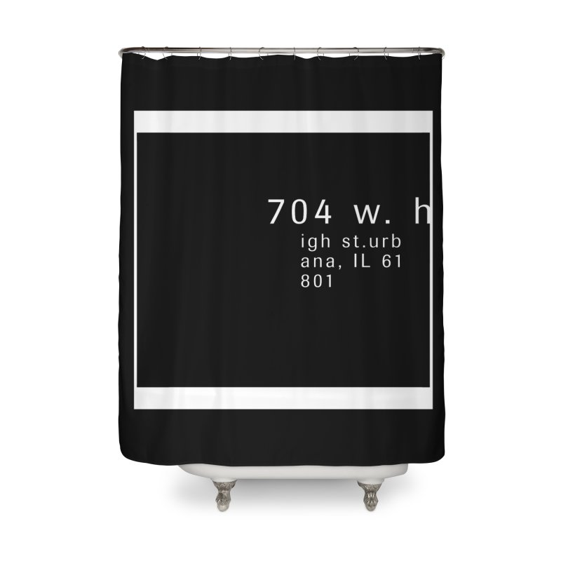 American Football House - Apparel Home Shower Curtain by Washed Up Emo