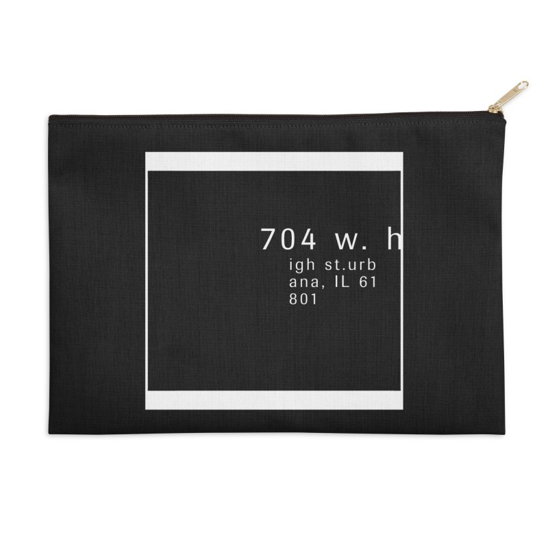 American Football House - Apparel Accessories Zip Pouch by Washed Up Emo