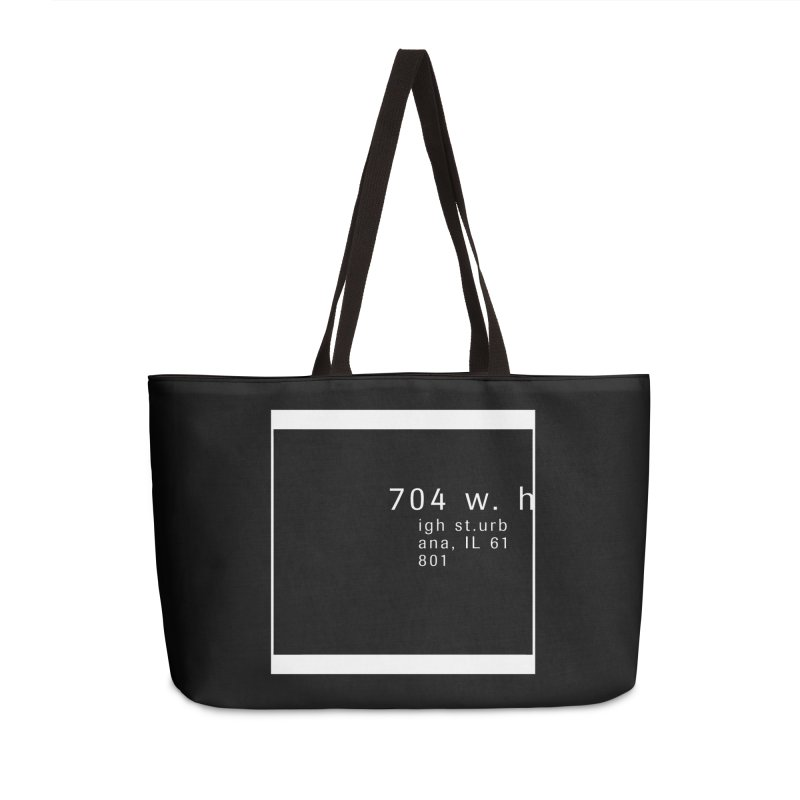 American Football House - Apparel Accessories Weekender Bag Bag by Washed Up Emo