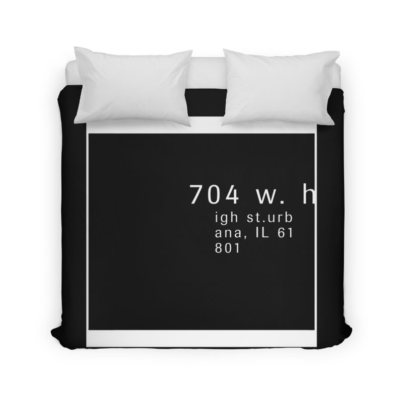 American Football House - Apparel Home Duvet by Washed Up Emo