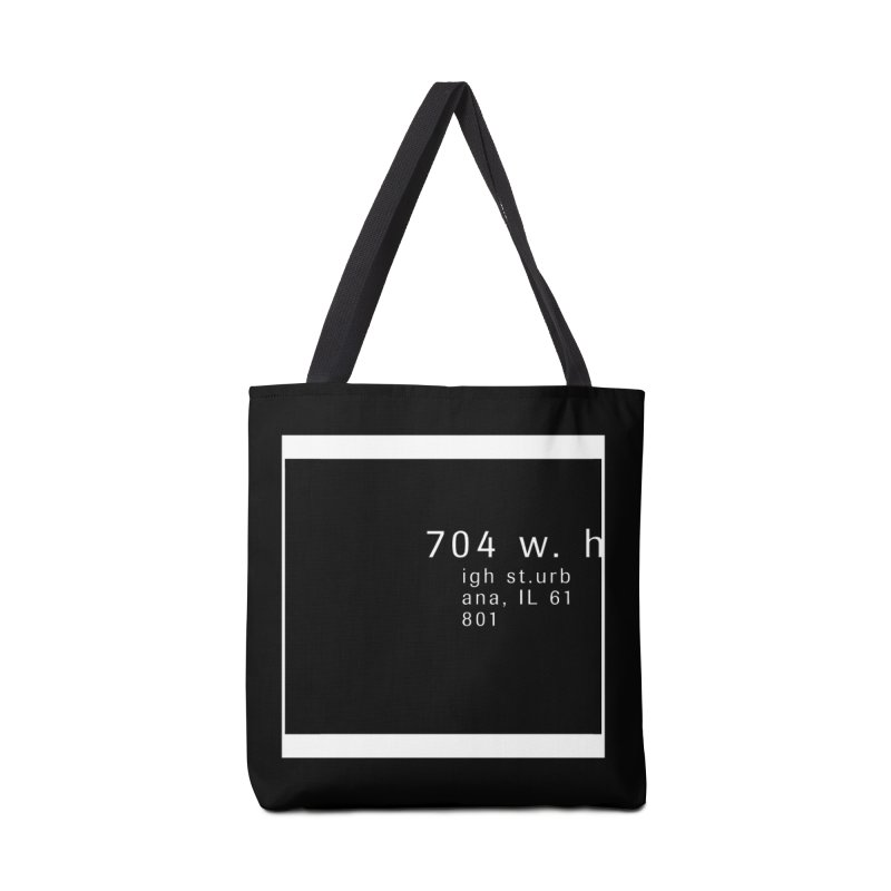 American Football House - Apparel Accessories Tote Bag Bag by Washed Up Emo