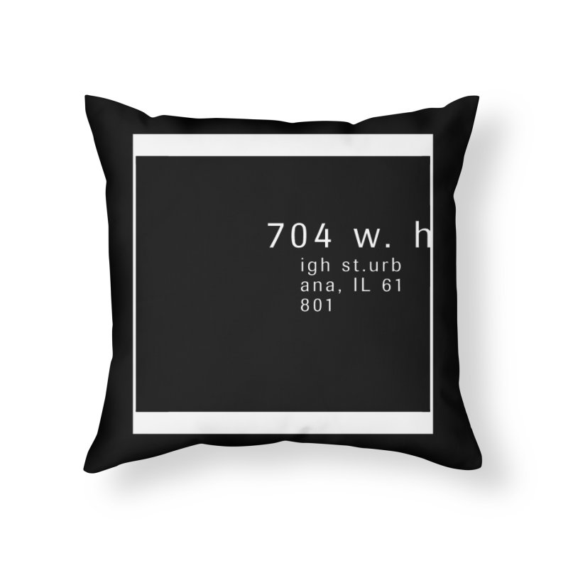 American Football House - Apparel Home Throw Pillow by Washed Up Emo