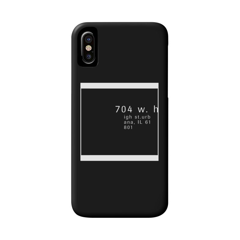 American Football House - Apparel Accessories Phone Case by Washed Up Emo