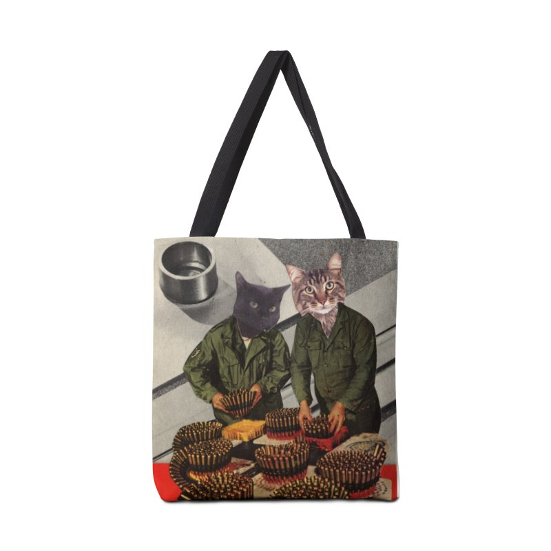 Army Cats Accessories Bag by Was Now Creations