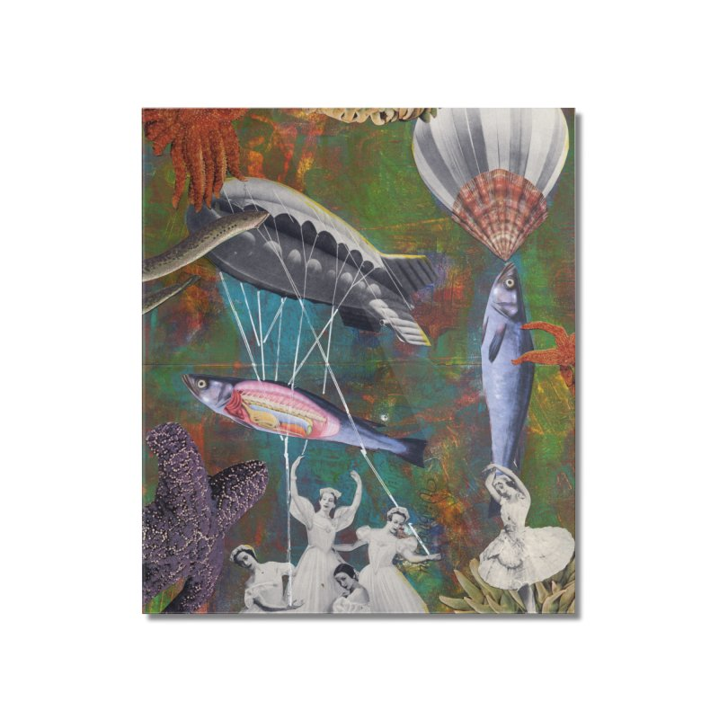 Underwater Ballet Home Mounted Acrylic Print by Was Now Creations