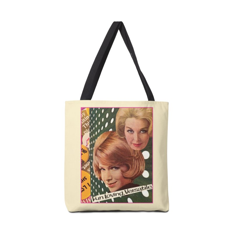 Fun-Loving Gals Accessories Bag by Was Now Creations