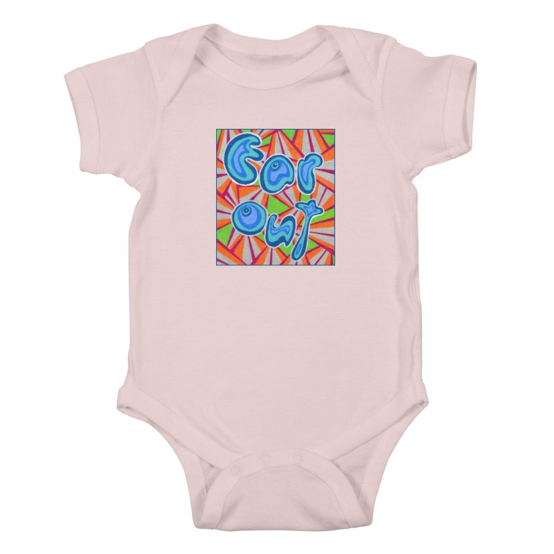 Far Out Kids Baby Bodysuit by Was Now Creations