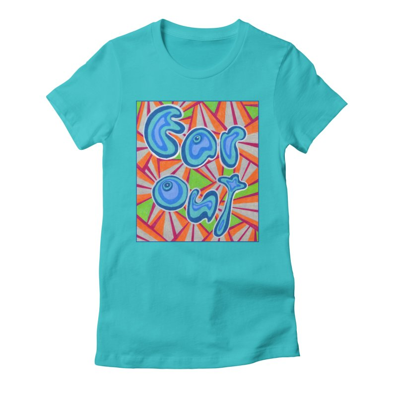 Far Out Women's T-Shirt by Was Now Creations