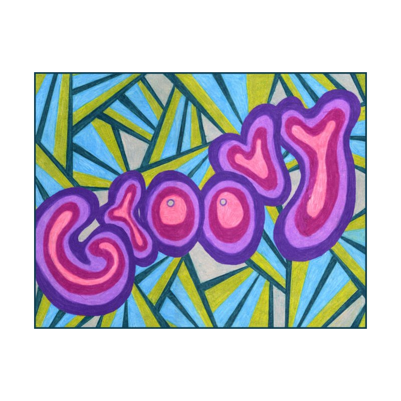 Groovy Women's T-Shirt by Was Now Creations