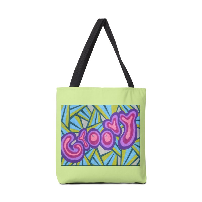 Groovy Accessories Bag by Was Now Creations