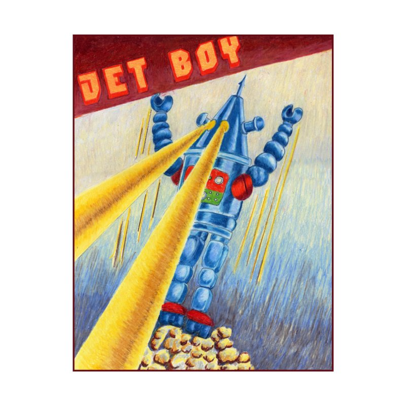Jet Boy Men's T-Shirt by Was Now Creations