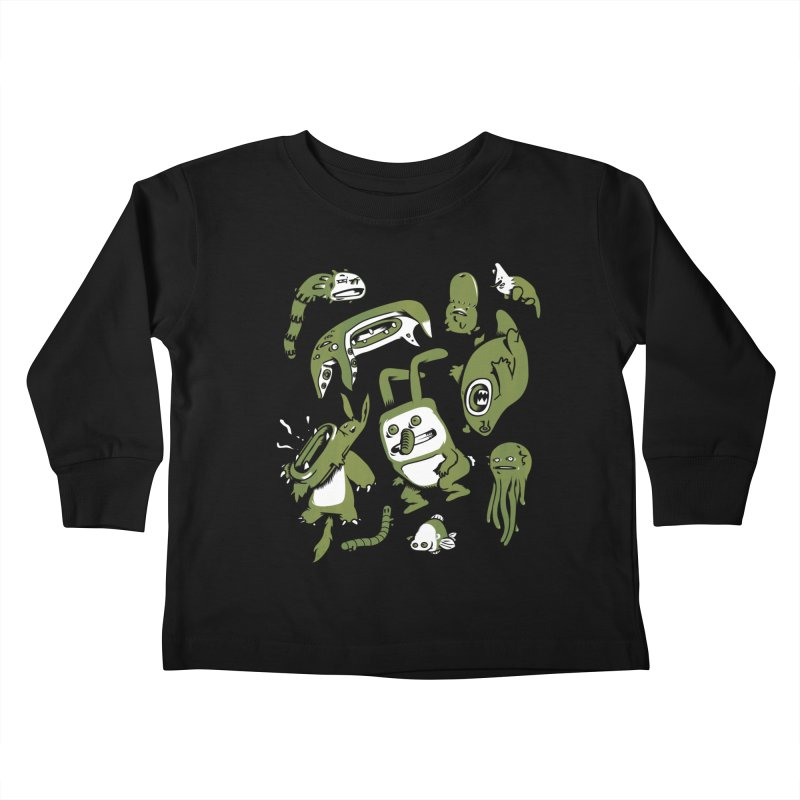 Darwinian Kids Toddler Longsleeve T-Shirt by wasp's Artist Shop