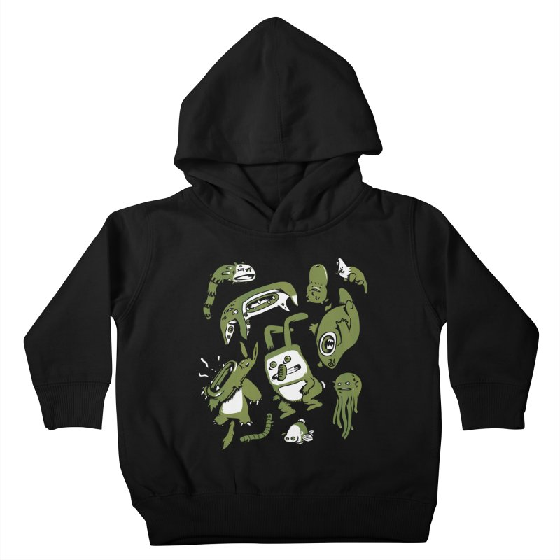 Darwinian Kids Toddler Pullover Hoody by wasp's Artist Shop