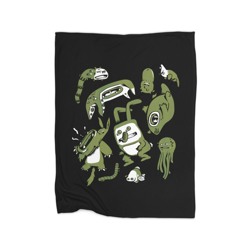 Darwinian Home Blanket by wasp's Artist Shop