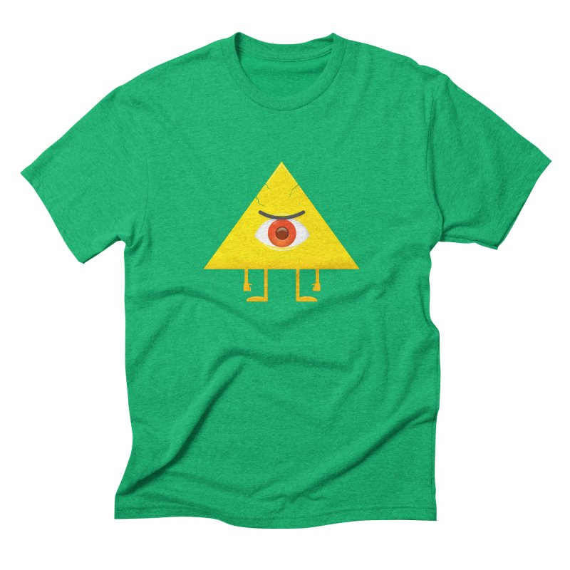 I see you in Men's Triblend T-Shirt Tri-Kelly by wasp's Artist Shop