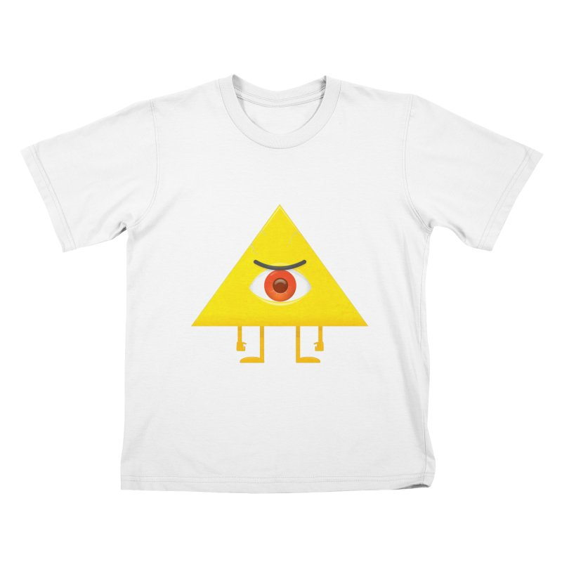I see you Kids T-shirt by wasp's Artist Shop