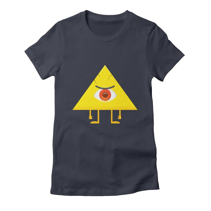 I see you Women's Fitted T-Shirt by wasp's Artist Shop
