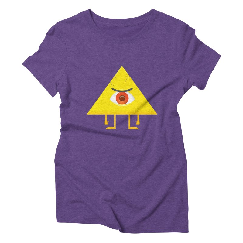 I see you Women's Triblend T-shirt by wasp's Artist Shop