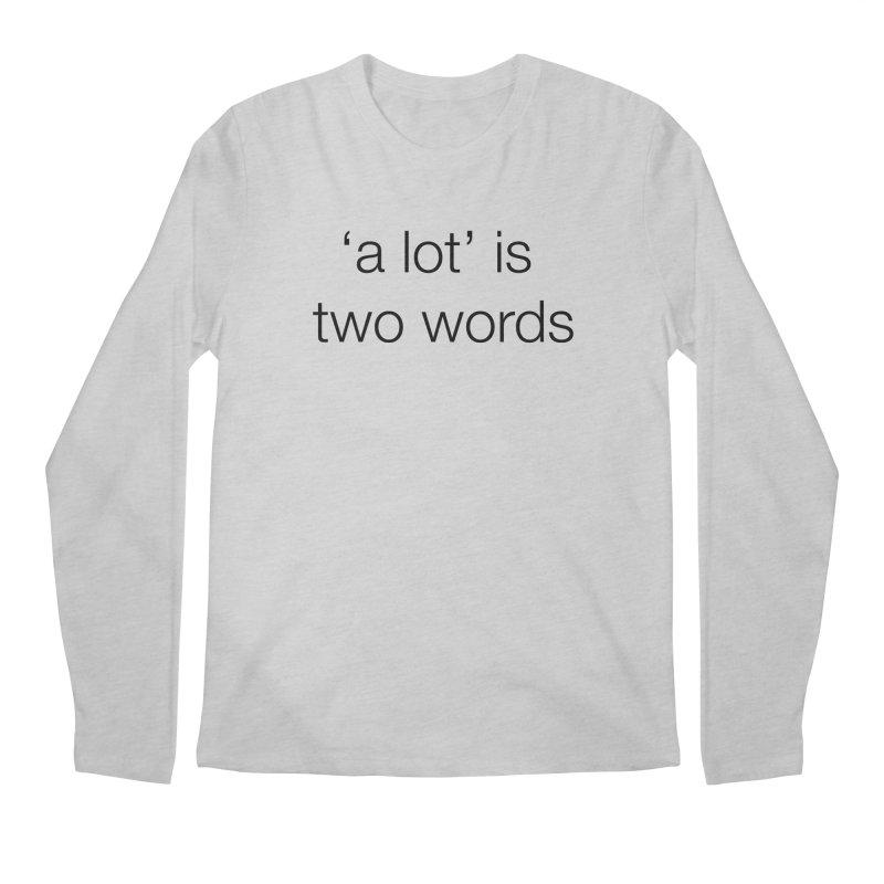 alot Men's Regular Longsleeve T-Shirt by wat