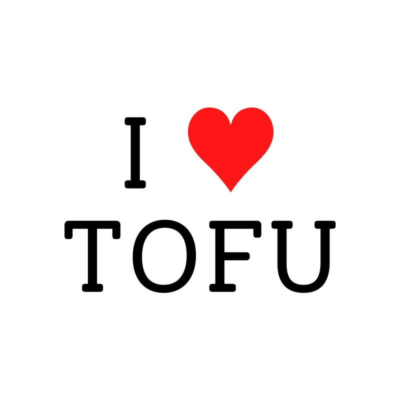 I Love Tofu Men's T-Shirt by Watch Learn Eat Shop
