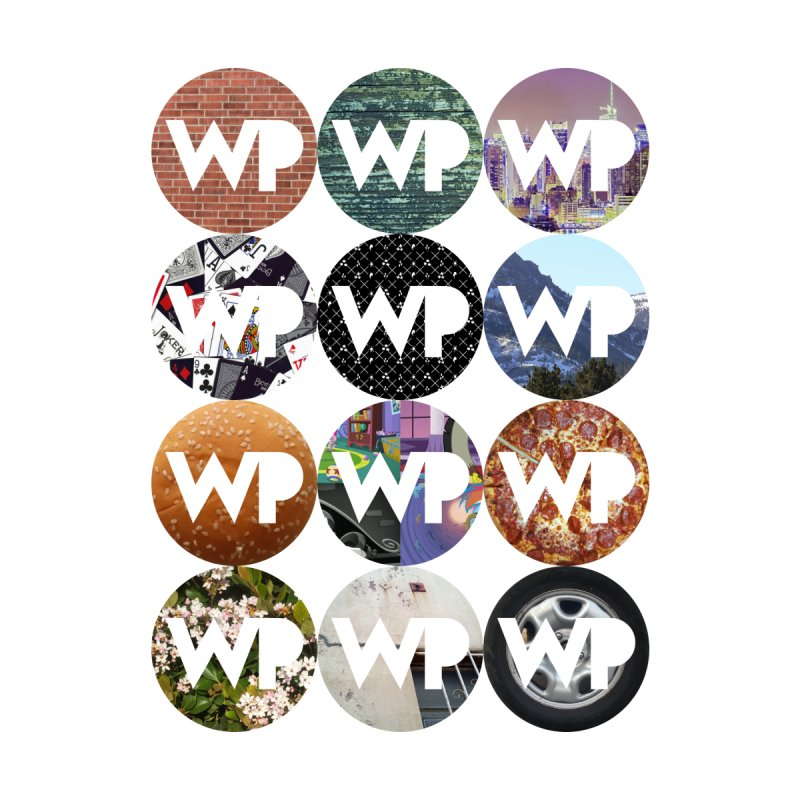 WP Dots 1 Home Stretched Canvas by WatchPony Clothing Collection