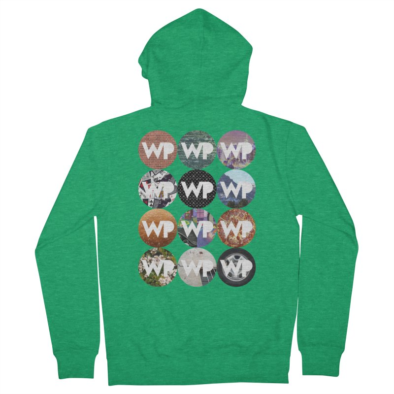 WP Dots 1 Women's Zip-Up Hoody by WatchPony Clothing Collection