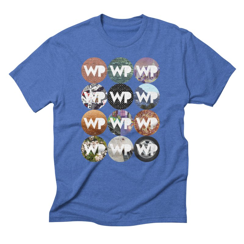 WP Dots 1 Men's T-Shirt by WatchPony Clothing Collection