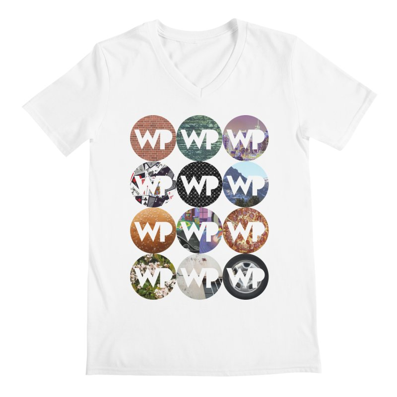 WP Dots 1 Men's V-Neck by WatchPony Clothing Collection