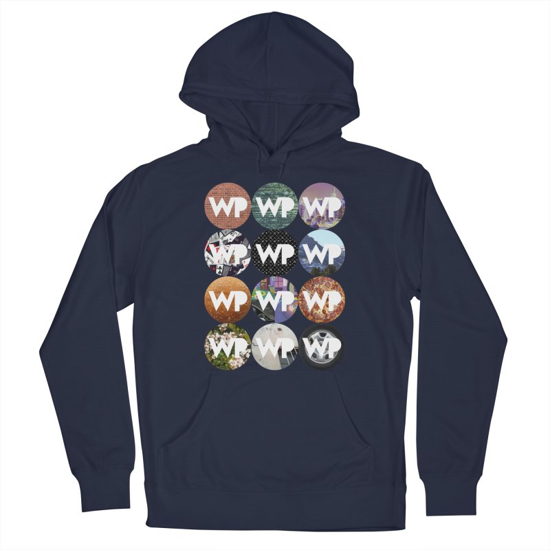WP Dots 1 Men's Pullover Hoody by WatchPony Clothing Collection