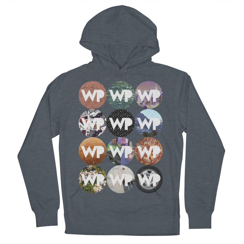 WP Dots 1 Women's French Terry Pullover Hoody by WatchPony Clothing Collection